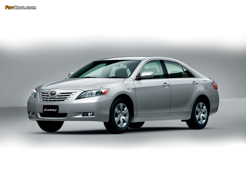 Photos of Toyota Camry JP-spec 2006–09 (800 x 600)