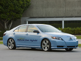 Photos of Toyota Camry CNG Hybrid Concept 2008