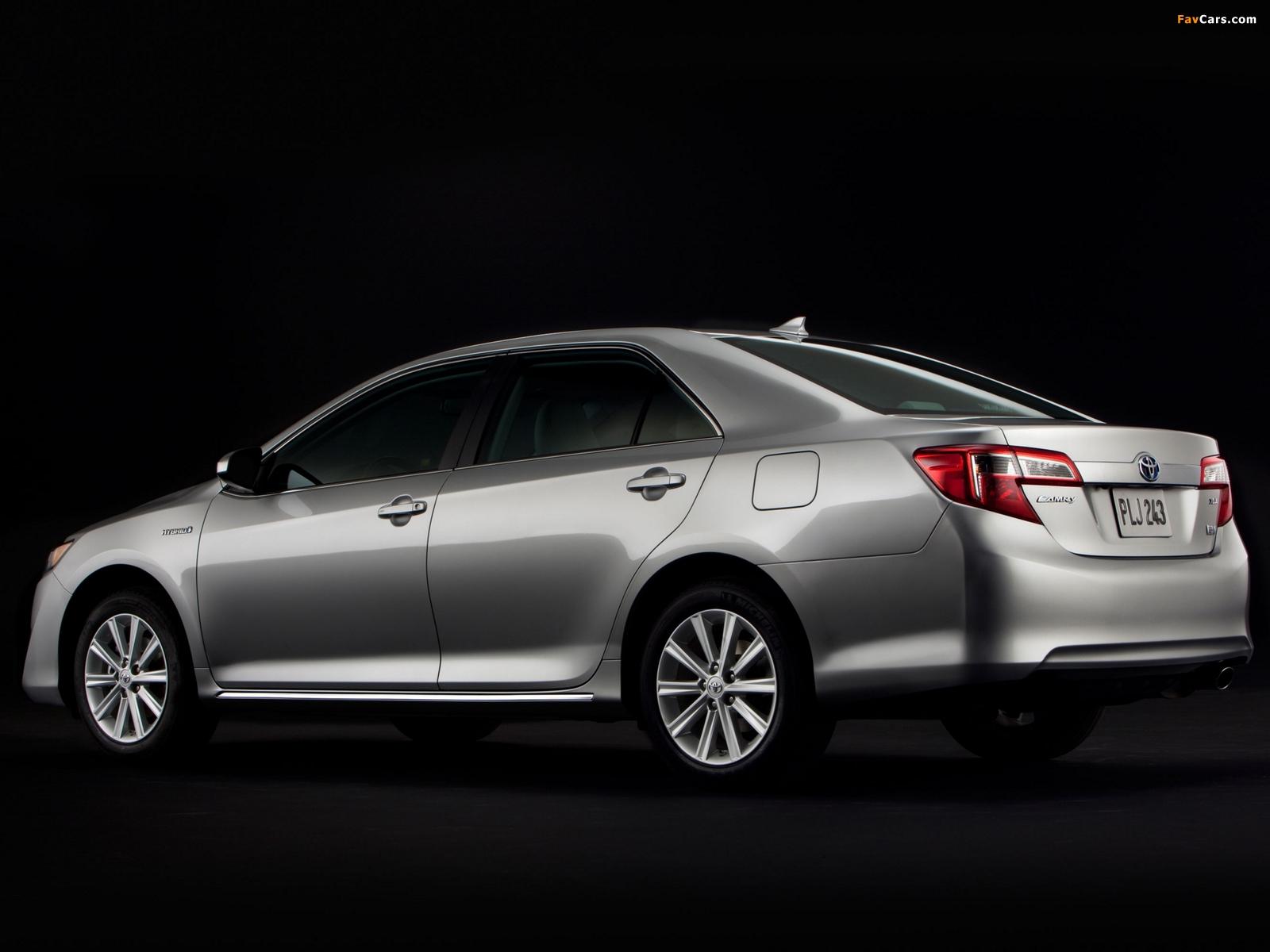 Photos of Toyota Camry Hybrid US-spec 2011 (1600 x 1200)