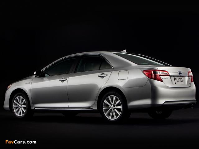 Photos of Toyota Camry Hybrid US-spec 2011 (640 x 480)