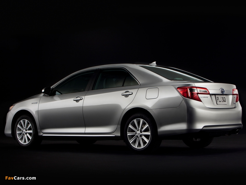 Photos of Toyota Camry Hybrid US-spec 2011 (800 x 600)