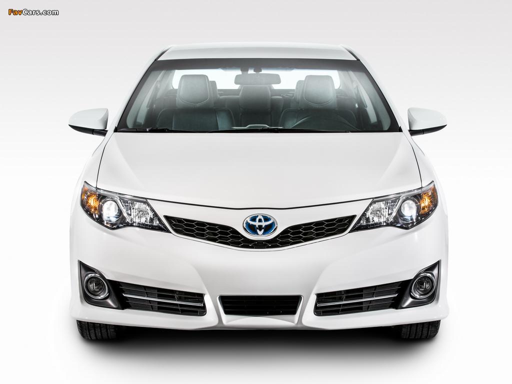 Photos of Toyota Camry Hybrid SE 2014 (1024 x 768)