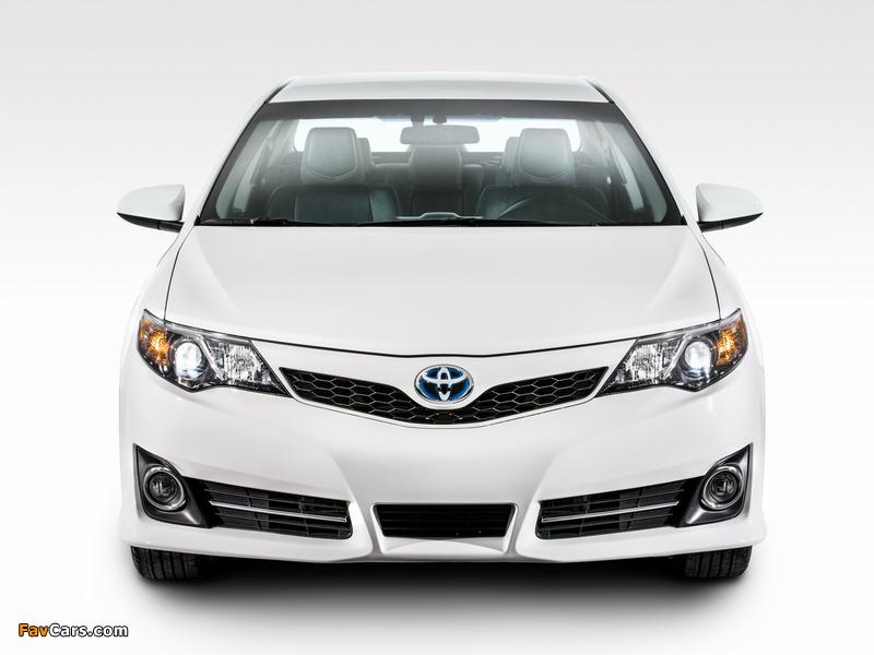 Photos of Toyota Camry Hybrid SE 2014 (800 x 600)