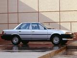Pictures of Toyota Camry Sedan Deluxe US-spec 1986–91
