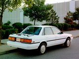 Pictures of Toyota Camry Sedan LE US-spec 1990–91