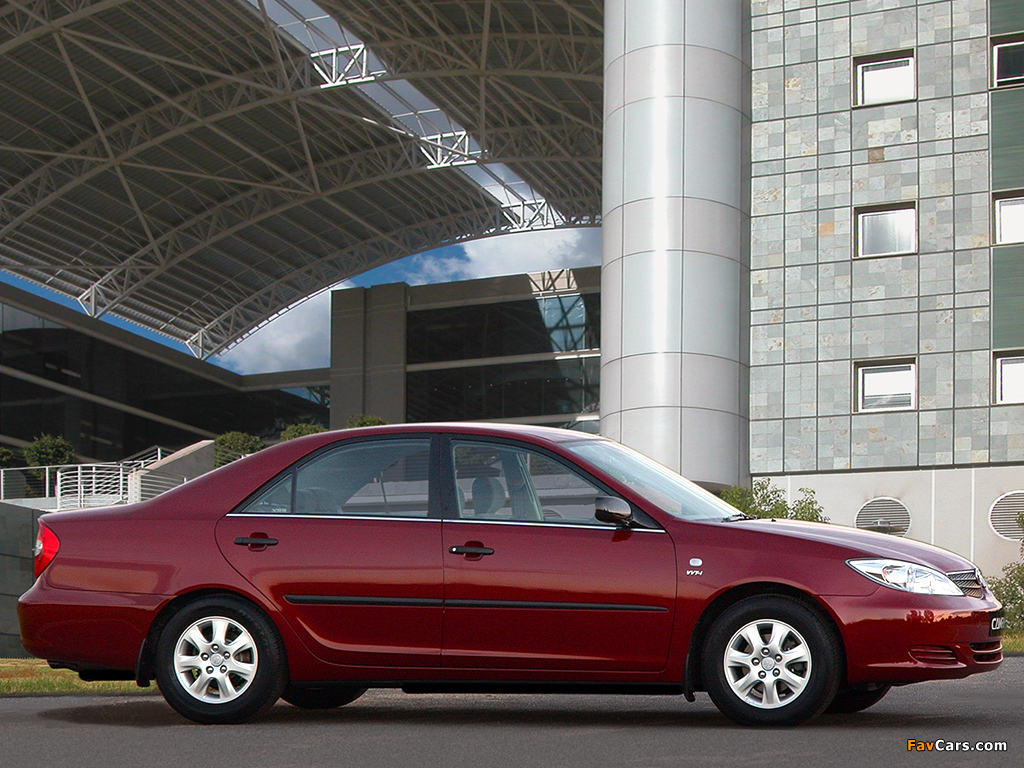 Pictures of Toyota Camry ZA-spec (ACV30) 2001–04 (1024 x 768)