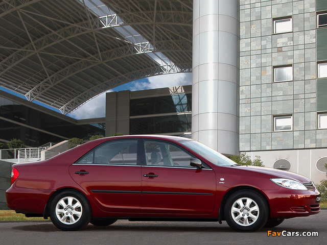 Pictures of Toyota Camry ZA-spec (ACV30) 2001–04 (640 x 480)