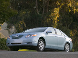Pictures of Toyota Camry XLE 2006–09