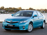 Pictures of Toyota Camry Hybrid AU-spec 2009–11