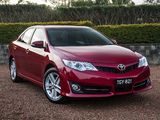 Pictures of Toyota Camry Atara R Special Edition 2012