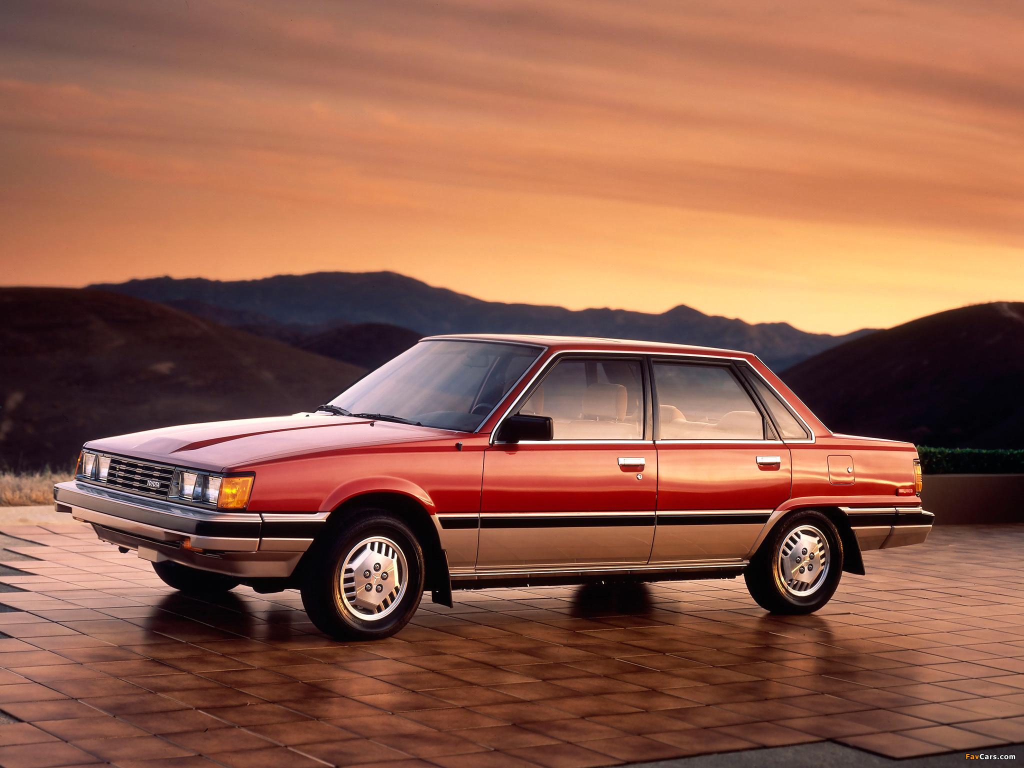 Toyota Camry Us Spec V10 1982 84 Photos 2048x1536