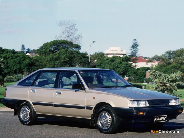 Toyota Camry GLI AU-spec (V10) 1982–86 wallpapers (640 x 480)