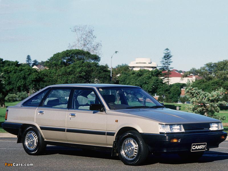 Toyota Camry GLI AU-spec (V10) 1982–86 wallpapers (800 x 600)