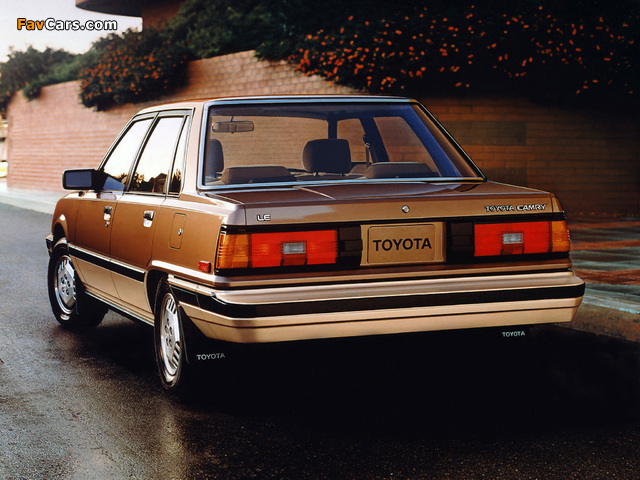 Toyota Camry US-spec (V10) 1982–84 wallpapers (640 x 480)