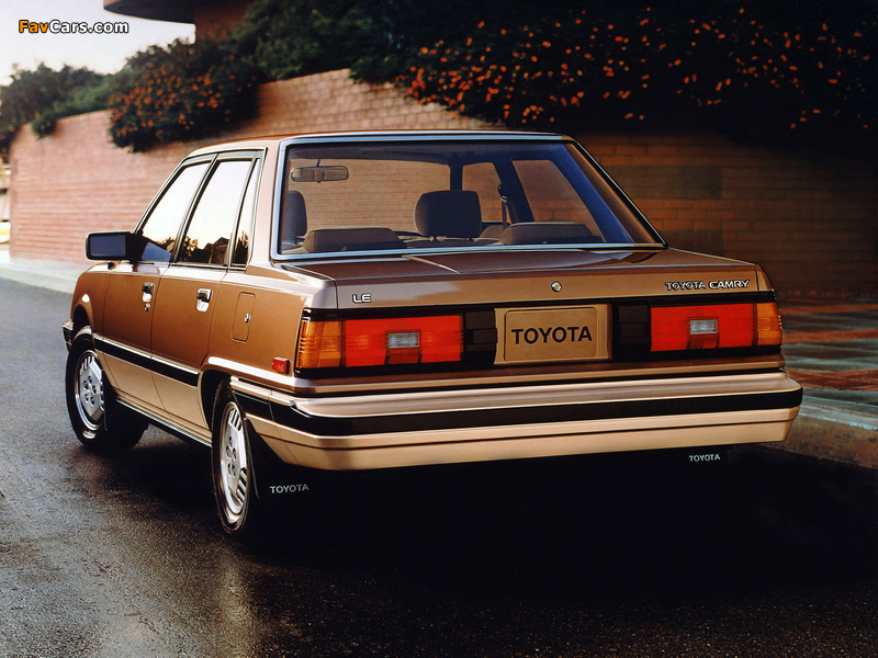 Toyota Camry US-spec (V10) 1982–84 wallpapers (800 x 600)