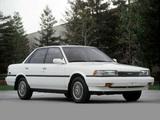 Toyota Camry Sedan LE US-spec 1986–90 wallpapers