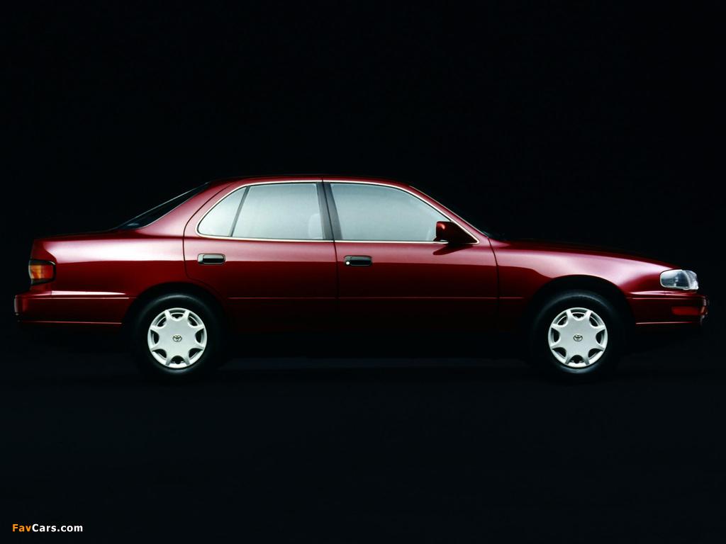 Toyota Camry US-spec (XV10) 1991–96 images (1024 x 768)