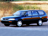 Toyota Camry Wagon US-spec (XV10) 1992–96 photos