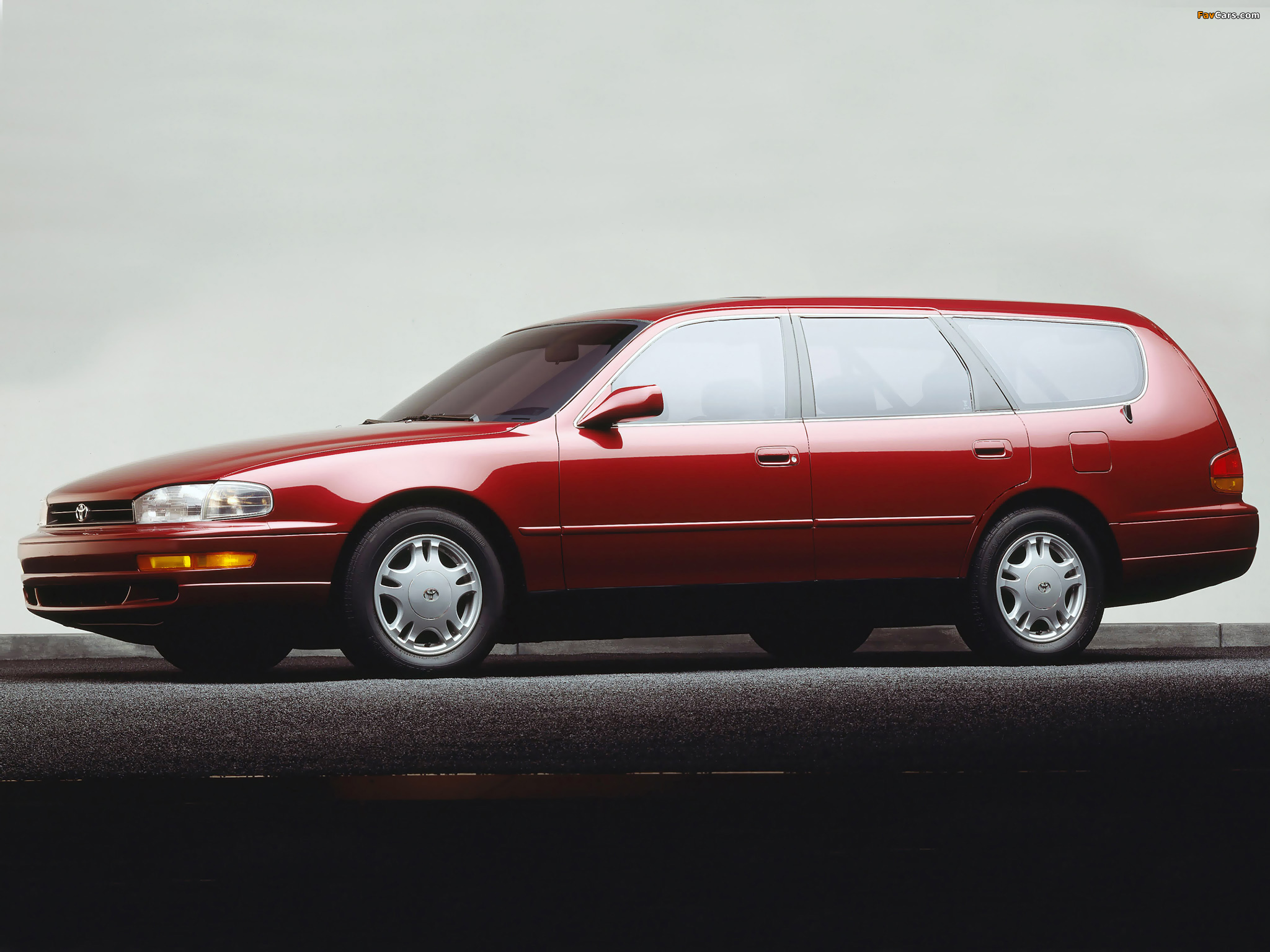 Toyota New Car >> Toyota Camry Wagon US-spec (XV10) 1992–96 pictures (2048x1536)