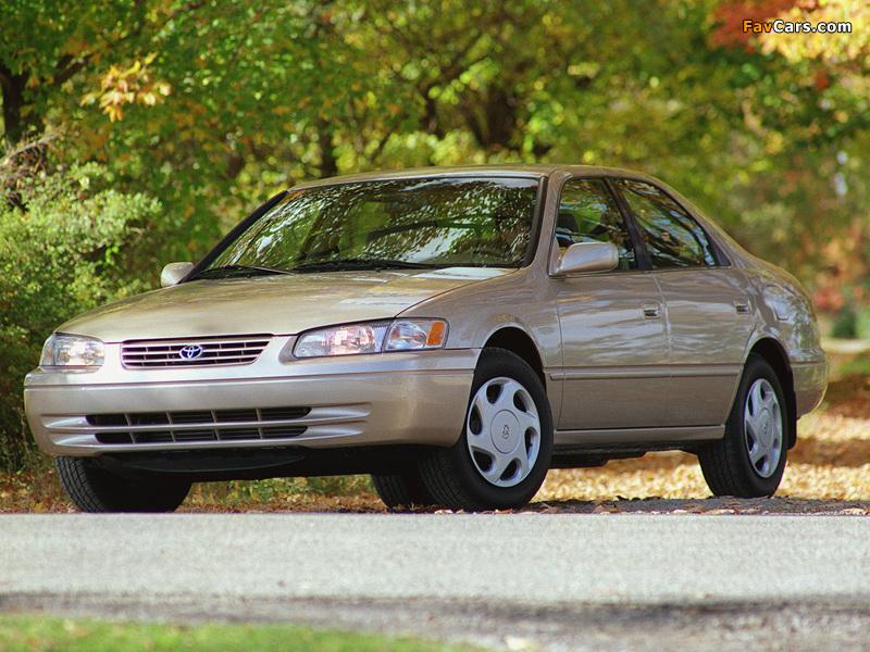 Toyota Camry US-spec (MCV21) 1997–99 photos (800 x 600)