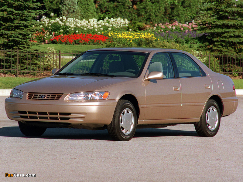 Toyota Camry US-spec (MCV21) 1997–99 wallpapers (800 x 600)