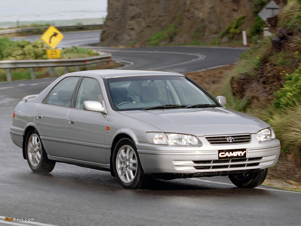 Toyota Camry Au Spec Mcv21 2000 02 Wallpapers 1024x768