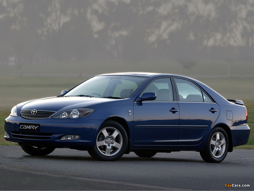 Toyota Camry ZA-spec (ACV30) 2001–04 images (1024 x 768)
