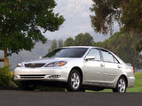 Toyota Camry US-spec (ACV30) 2001–04 pictures