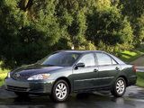 Toyota Camry US-spec (ACV30) 2001–04 wallpapers