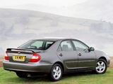 Toyota Camry UK-spec (ACV30) 2002–06 photos