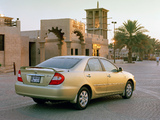 Toyota Camry UAE-spec (ACV30) 2002–04 pictures
