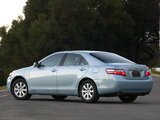 Toyota Camry XLE 2006–09 pictures