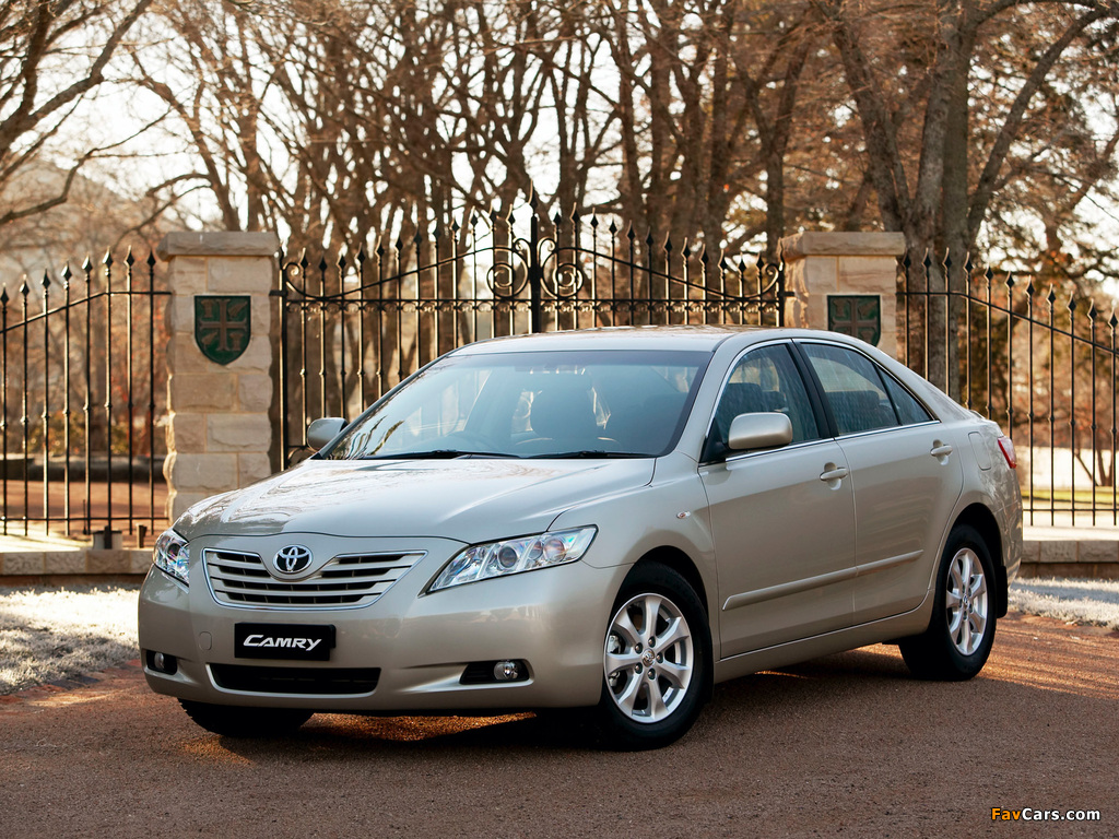Toyota Camry 2006–09 wallpapers (1024 x 768)