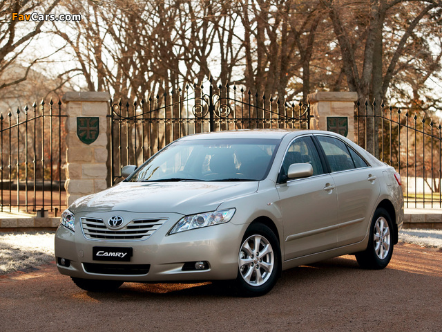 Toyota Camry 2006–09 wallpapers (640 x 480)