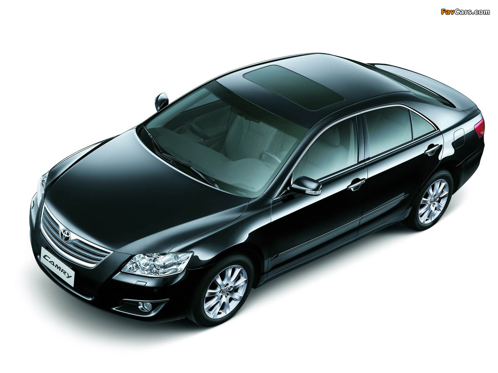 Toyota Camry CN-spec 2006–09 wallpapers (1024 x 768)