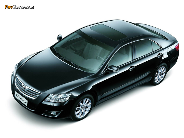 Toyota Camry CN-spec 2006–09 wallpapers (640 x 480)