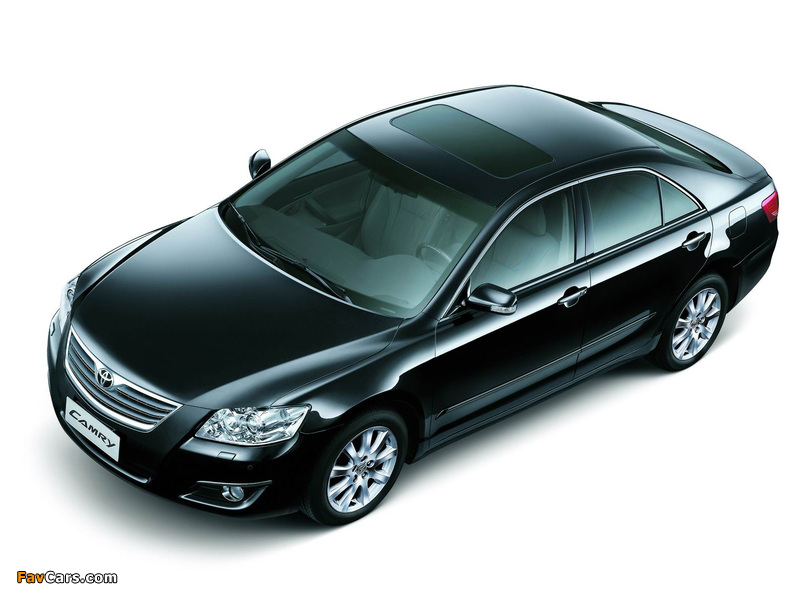 Toyota Camry CN-spec 2006–09 wallpapers (800 x 600)