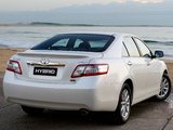 Toyota Camry Hybrid AU-spec 2009–11 images