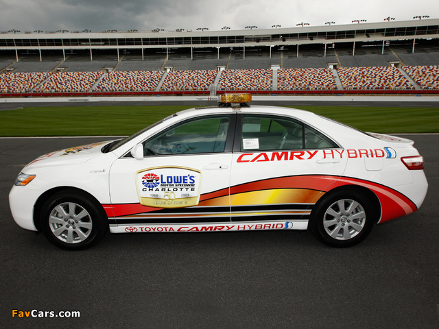 Toyota Camry Hybrid NASCAR Pace Car 2009 images (640 x 480)