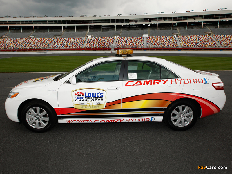 Toyota Camry Hybrid NASCAR Pace Car 2009 images (800 x 600)