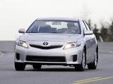 Toyota Camry Hybrid 2009–11 photos