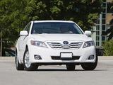 Toyota Camry XLE 2009–11 photos