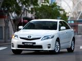 Toyota Camry Hybrid AU-spec 2009–11 photos