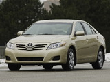 Toyota Camry LE 2009–11 pictures