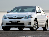 Toyota Camry Hybrid AU-spec 2009–11 pictures
