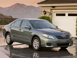 Toyota Camry LE 2009–11 wallpapers