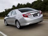 Toyota Camry Hybrid AU-spec 2011 images