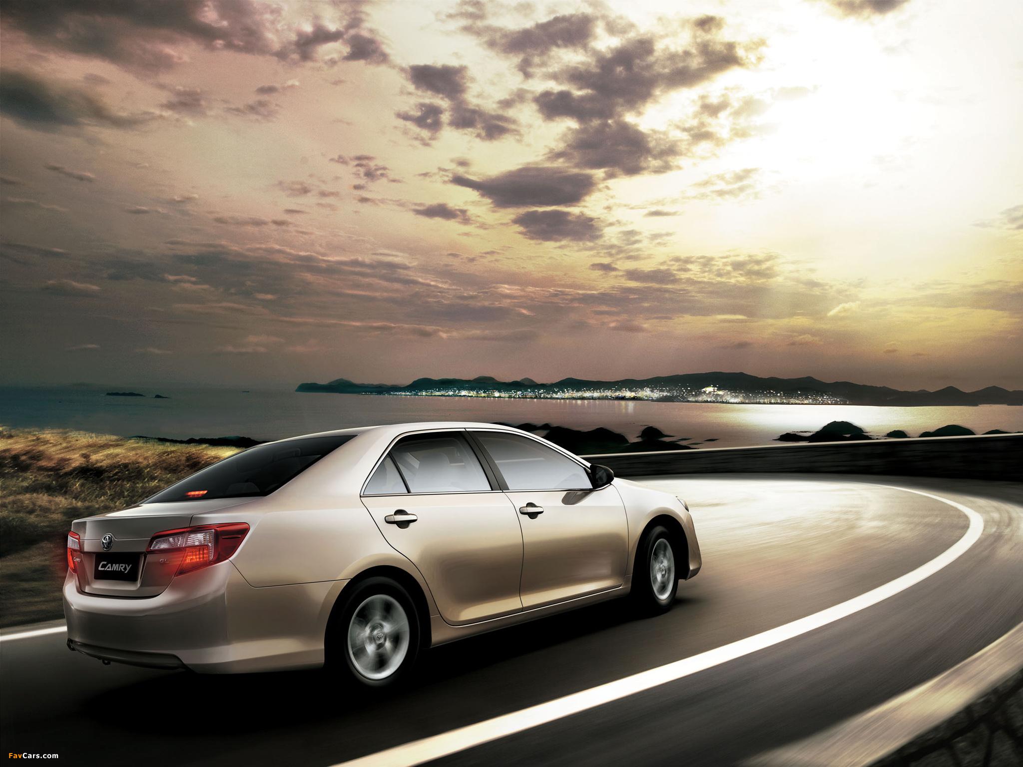Toyota Camry GL UAE-spec 2011 photos (2048 x 1536)