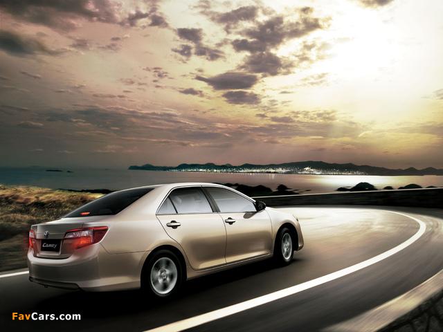 Toyota Camry GL UAE-spec 2011 photos (640 x 480)
