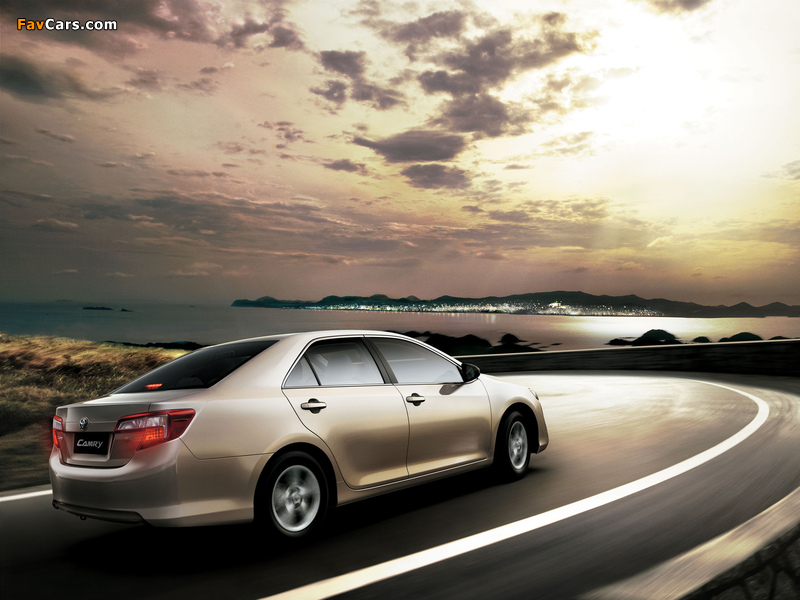 Toyota Camry GL UAE-spec 2011 photos (800 x 600)